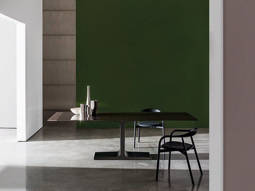 Rectangular glass table PALACE   Table by Sovet italia