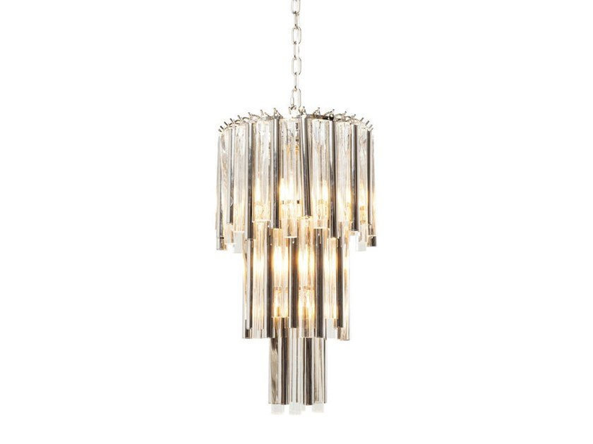 Steel pendant lamp PALAZZO POLE SILVER | Pendant lamp by KARE-DESIGN