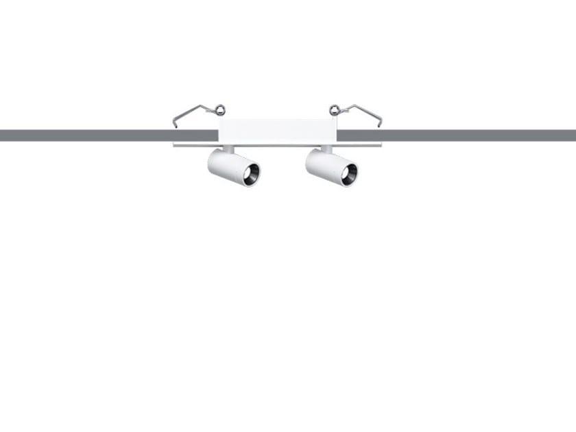LED adjustable ceiling die cast aluminium spotlight PALCO RECESSED/SURFACE by iGuzzini