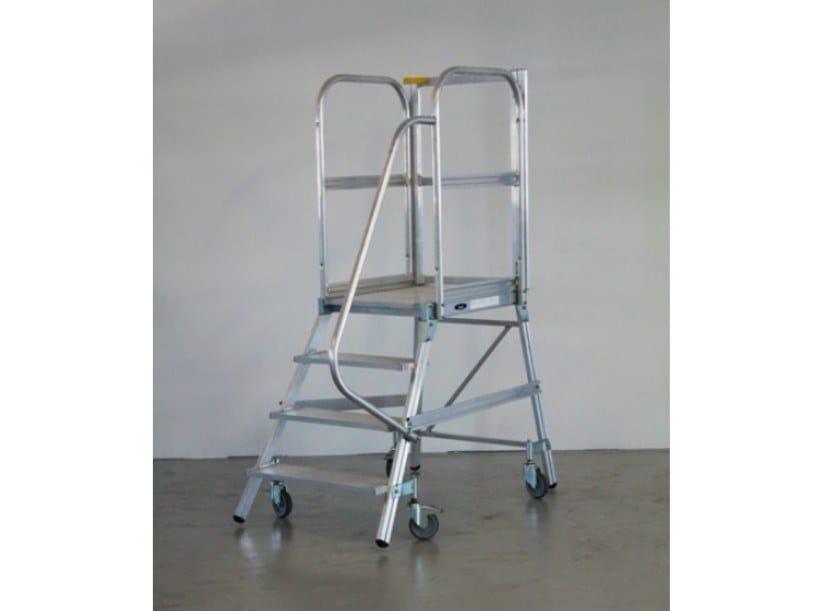 Aluminium heavy duty ladder PALCO by SVELT