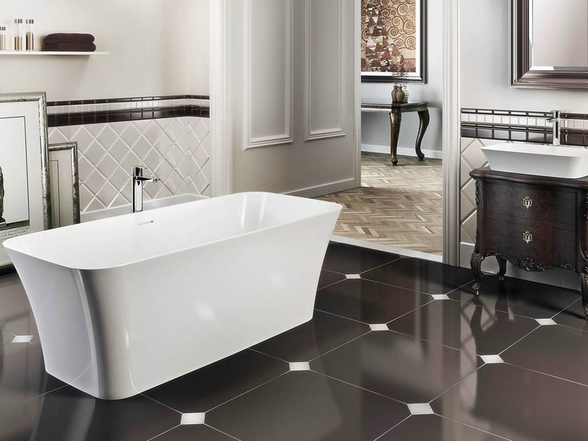Freestanding oval bathtub PALERMO PICCOLO by Polo