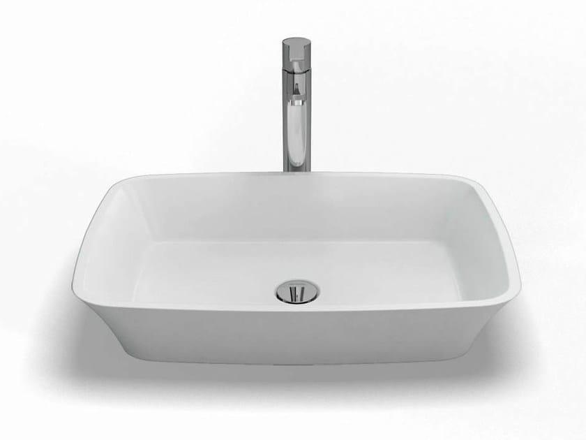Countertop rectangular washbasin PALERMO | Washbasin by Polo