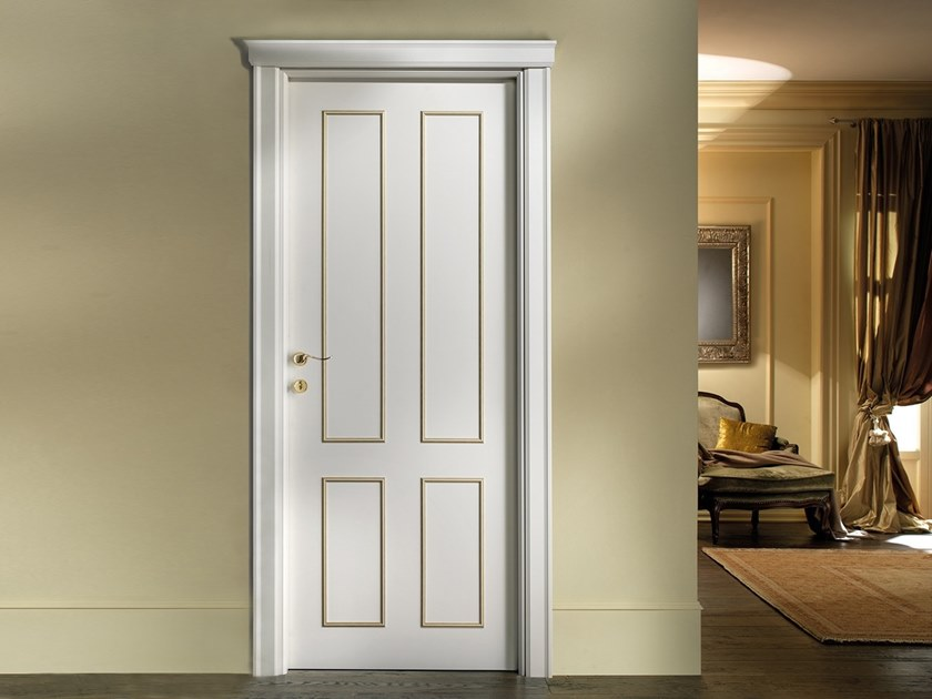 Hinged lacquered door PALLADIO 124 PP by BARAUSSE