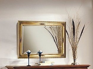 Wall-mounted framed mirror PALLADIO | Mirror by Arvestyle