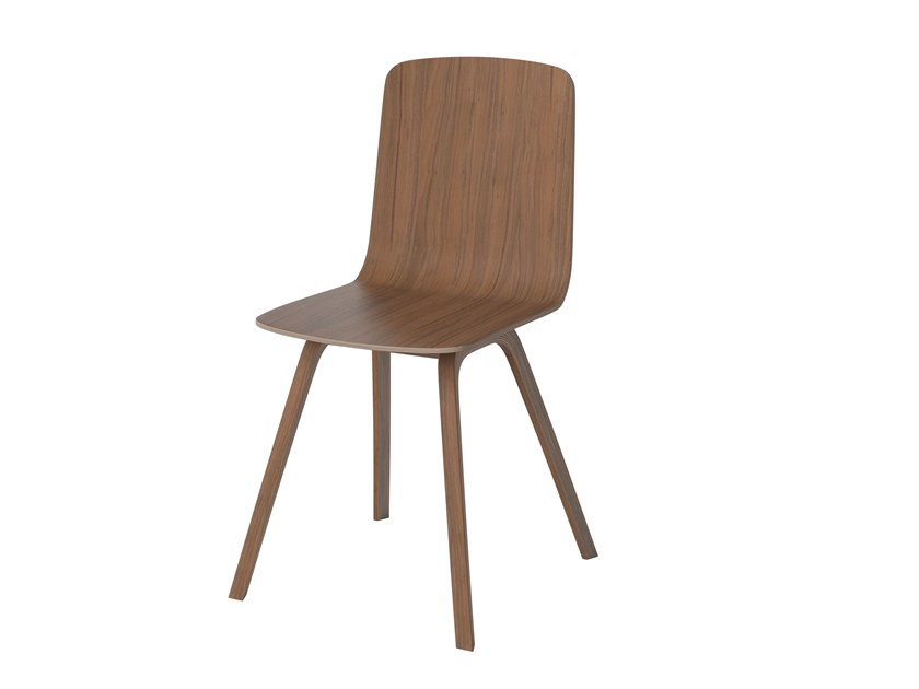 Beau Wood Veneer Chair PALM | Chair By Bolia
