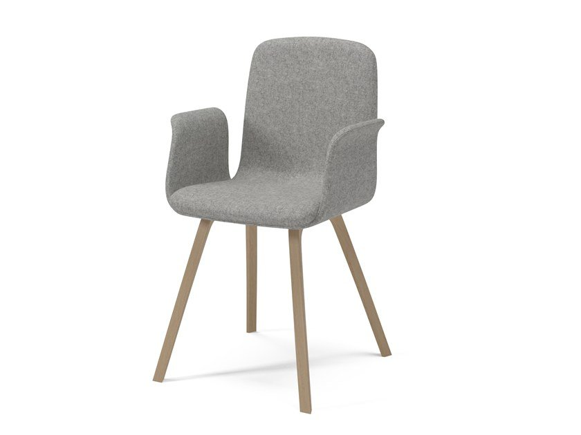 Merveilleux Fabric Chair With Armrests PALM | Chair With Armrests By Bolia