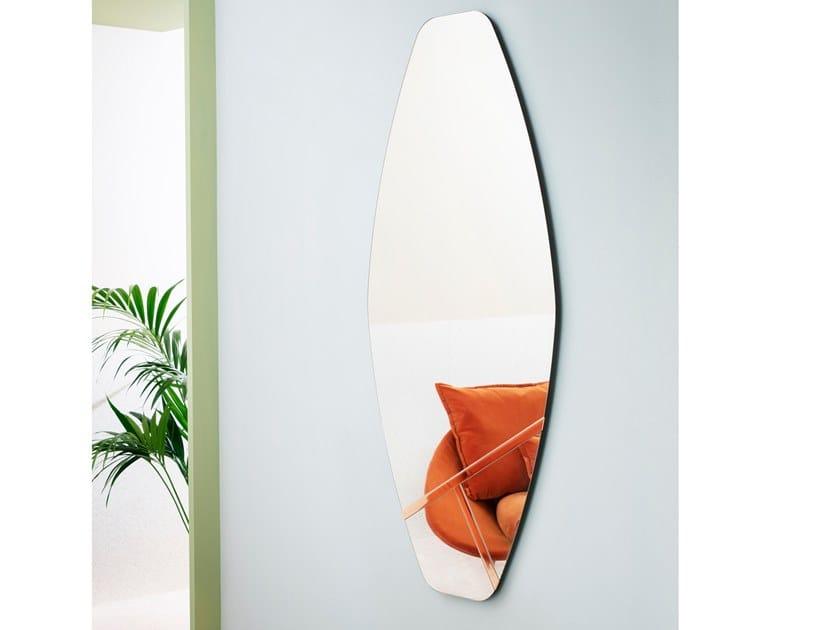 Wall-mounted mirror PALMIRO by Miniforms