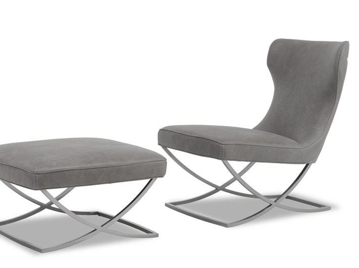 Leather armchair PALOMA by BAXTER