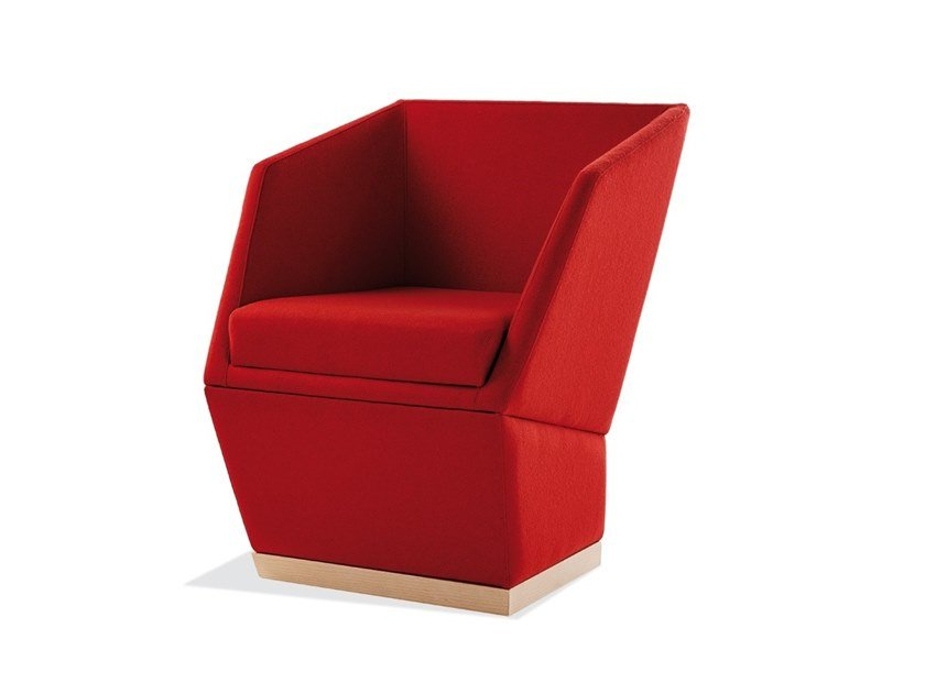 Fabric easy chair PALOMA   Fabric easy chair by Sedex