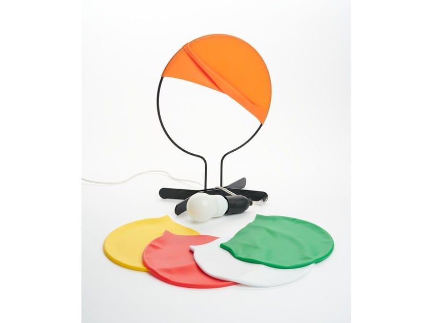 Steel table lamp PALOMBELLA by ZAVA