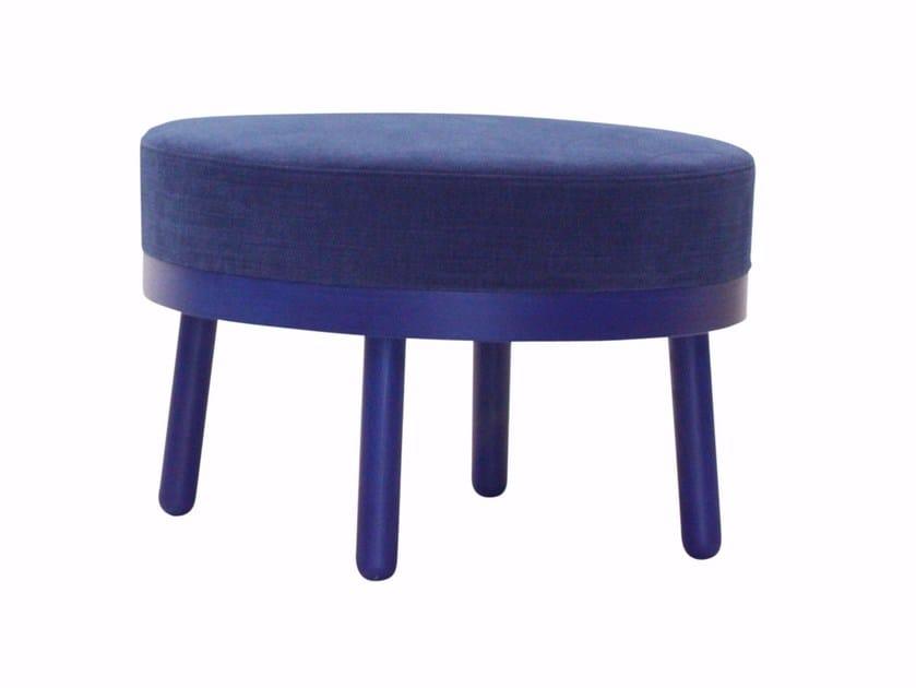 Round fabric pouf PALTÒ | Pouf by Cizeta L'Abbate
