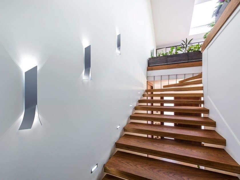 LED aluminium wall lamp PALUS by betec Licht