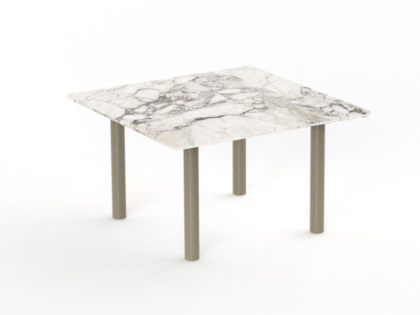 Tavolino quadrato in gres porcellanato PANAMA | Tavolino by Talenti