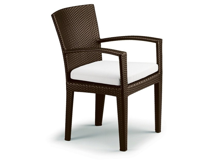 Garden Chair With Armrests PANAMA | Chair With Armrests By DEDON