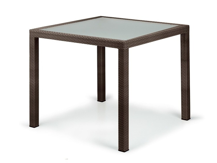 Square garden table PANAMA   Table by Dedon
