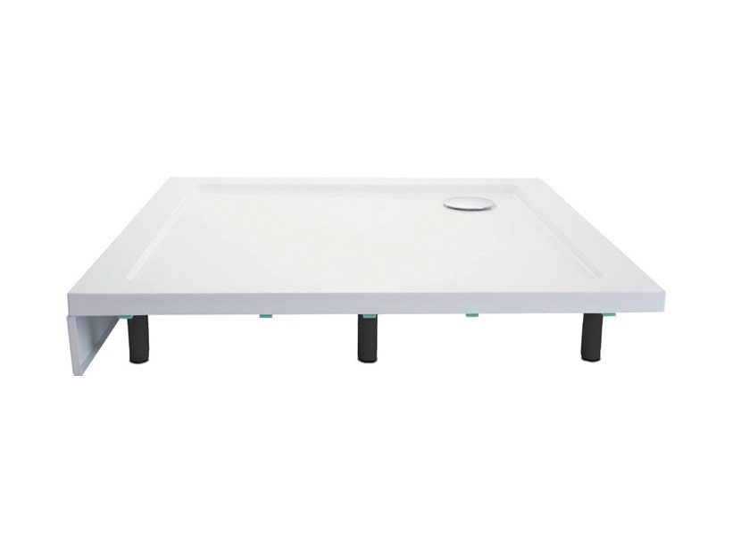 Composite material shower tray PANEL PACK | Shower tray by Polo