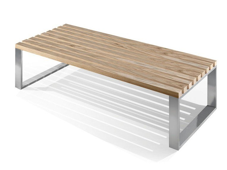 Wooden bench seating PANKA | Wooden bench seating by FIT INTERIORS