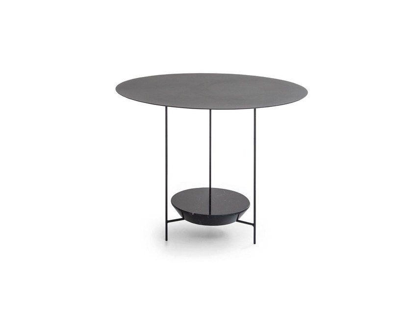 Round marble coffee table PANNA COTTA | Round coffee table by Molteni&C