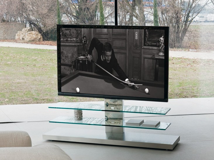TV cabinet with casters PANORAMA by Cattelan Italia