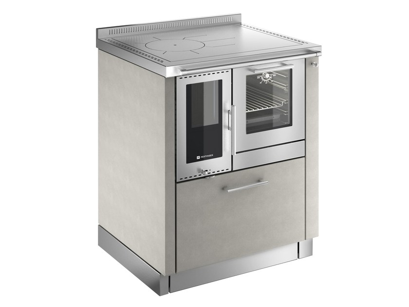 Stainless steel kitchen unit ÖKOALPIN by PERTINGER