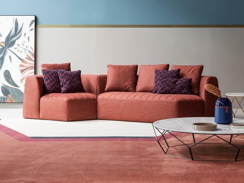 Modular fabric sofa PANORAMA | Sofa by Bonaldo
