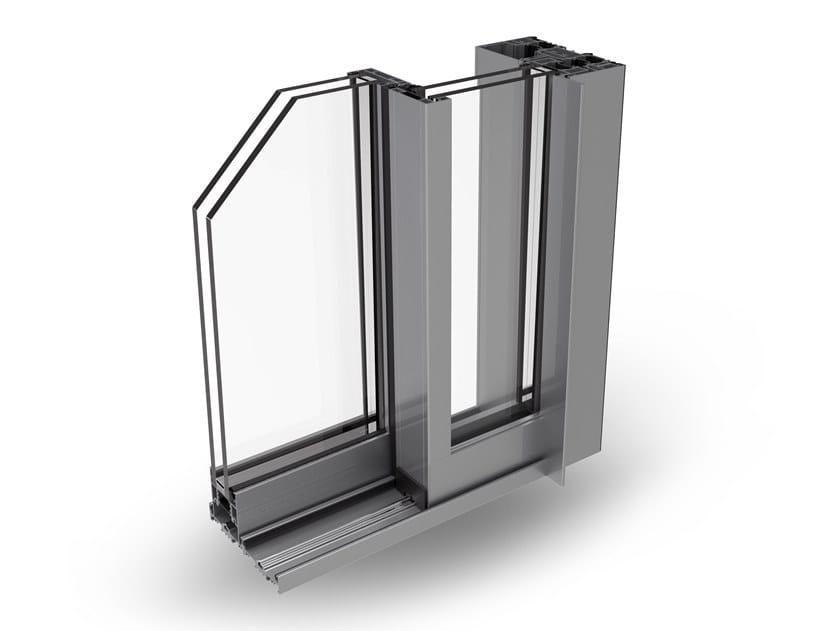Aluminium thermal break window PANORAMICO by ALsistem