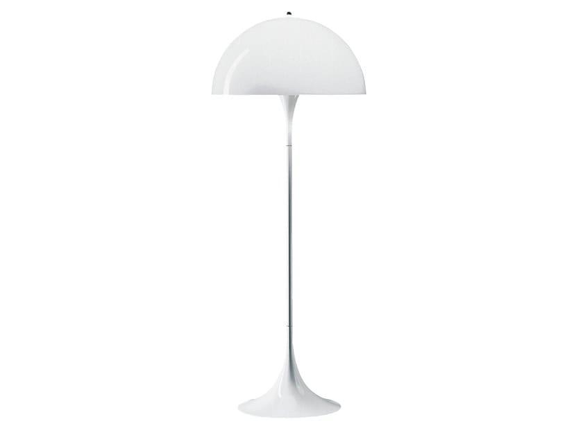 Acrylic glass floor lamp PANTHELLA   Floor lamp by Louis Poulsen
