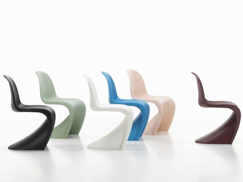 Polypropylene chair PANTON CHAIR by Vitra