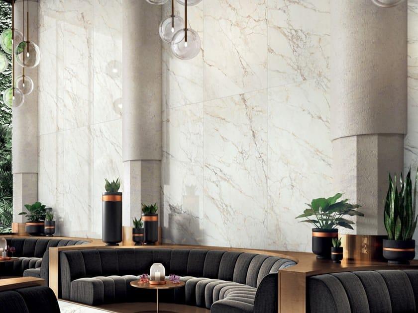 Pavimento/rivestimento in gres laminato effetto marmo ALLURE – PAONAZZETTO by COTTO D'ESTE