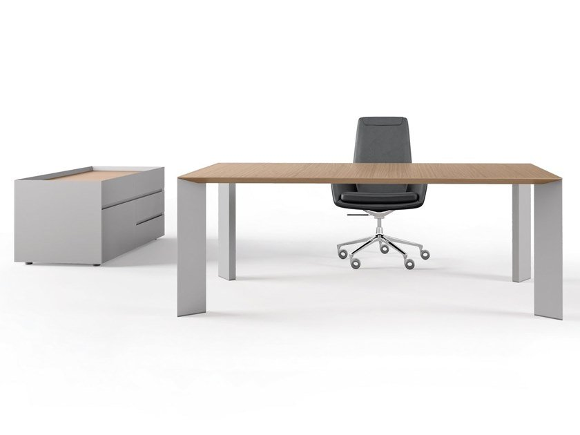 Rectangular office desk PAPER | Office desk by RENZ
