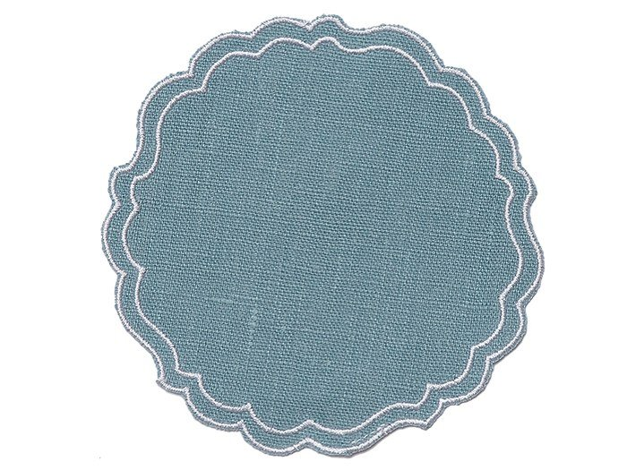 Linen placemat PAPER SMOOTH | Placemat by La Gallina Matta