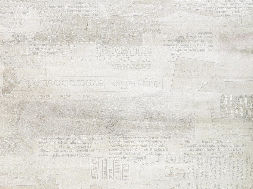 Writing wallpaper PAPER by Tecnografica Italian Wallcoverings
