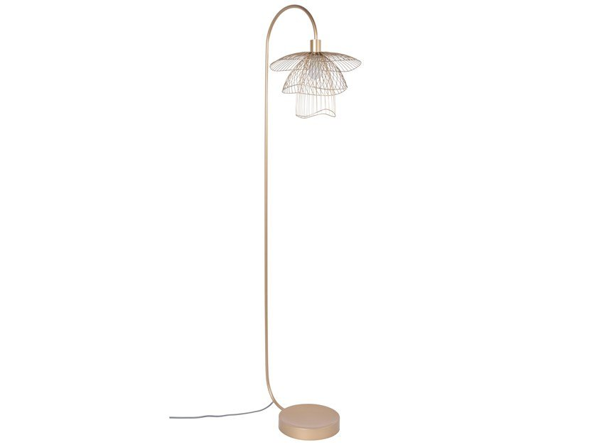 Metal floor lamp PAPILLON | Floor lamp by Forestier
