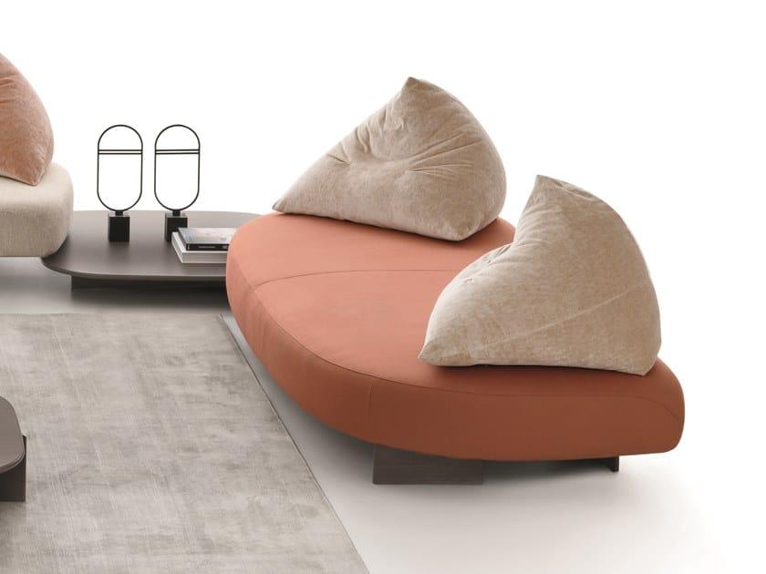 3 seater fabric sofa PAPILO   3 seater sofa by Ditre Italia