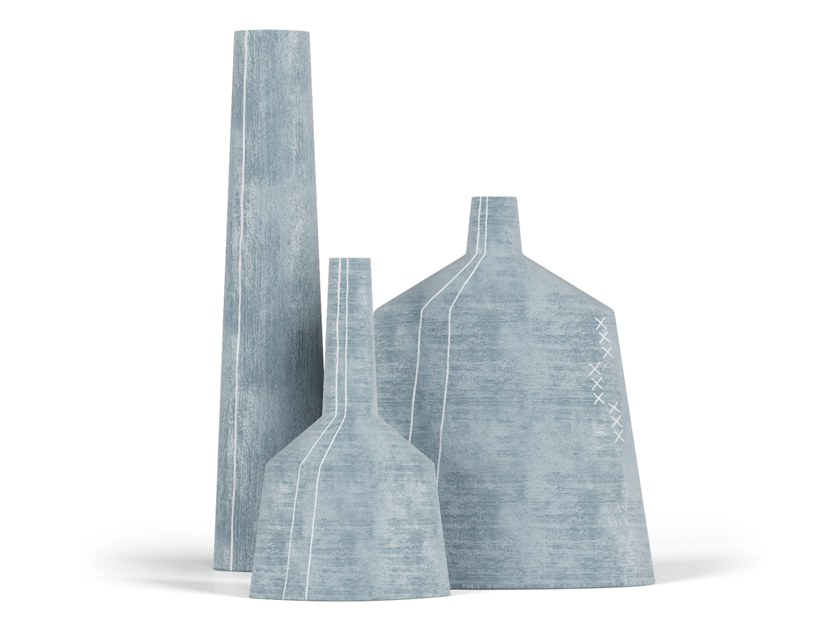 Ceramic vase PAPIR SET by FAINA Collection