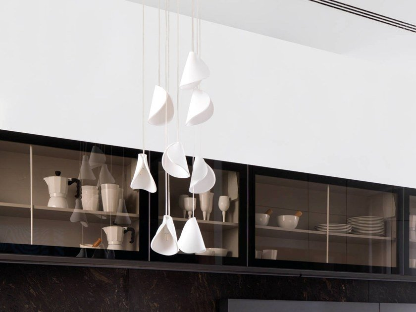 Direct light pendant lamp PAPPARDELLE by Gamadecor