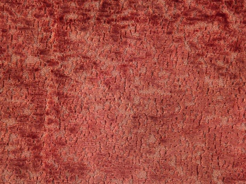 Jacquard velvet fabric PARADISE by Aldeco