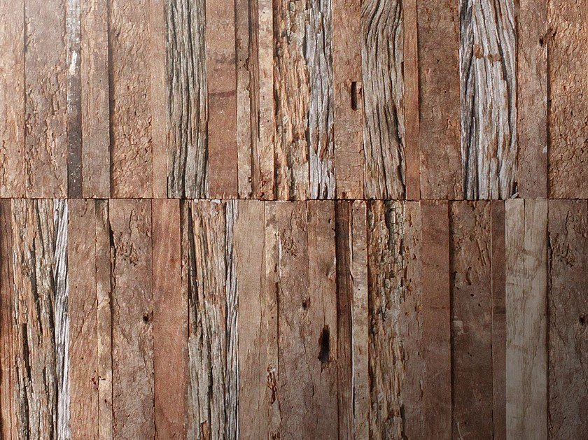 Reclaimed wood parquet PARALLELO by Idee & Parquet