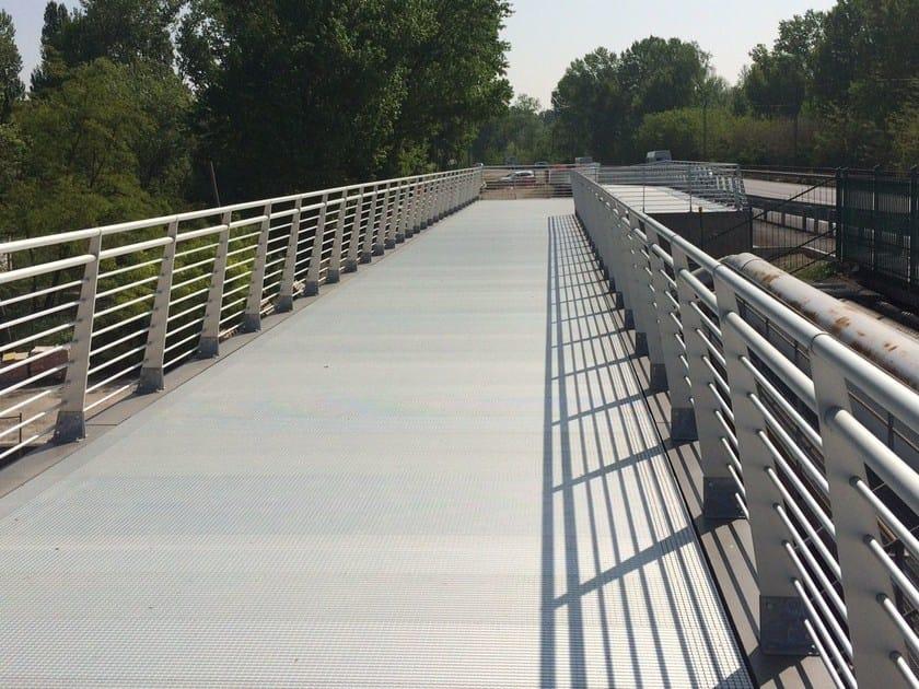 Aluminium Road railing ORIZZONTE URBANO by ALUSCALAE