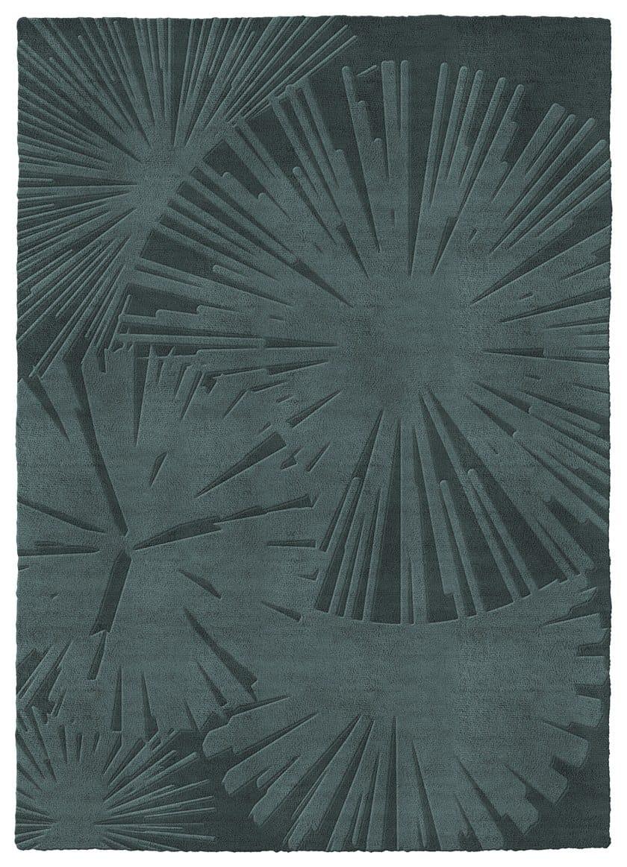 Handmade rectangular wool rug SUNSHADE   Rug by RED EDITION