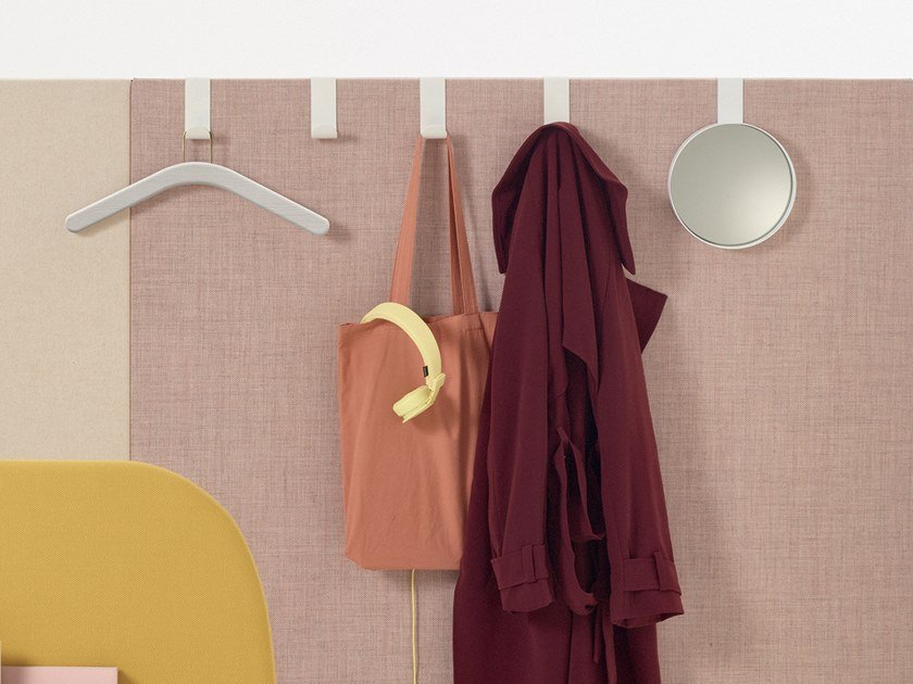 Plate office coat rack PARAVAN MOOD | Coat rack by arper
