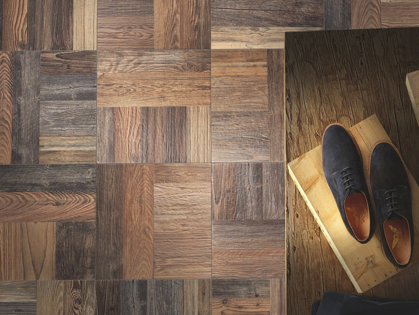 Porcelain stoneware wall/floor tiles with wood effect PARCHI by Casalgrande Padana