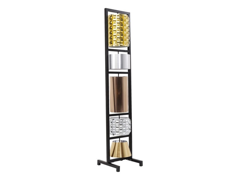 Floor lamp PARECCHI GLAMOUR | Floor lamp by KARE-DESIGN