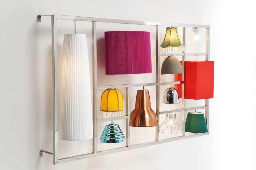 Illusion Kare Lampada Moderno Stile design Parecchi Da In Parete bvYf76yg