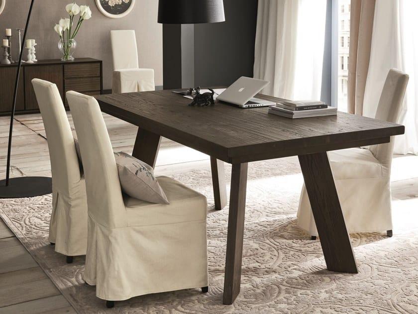 Extending oak dining table PARIGI + STREET by AltaCorte