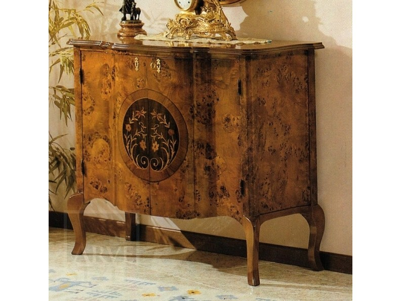 Lacquered sideboard with doors PARIGI | Sideboard by Arvestyle