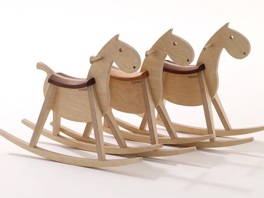 Cavallo A Dondolo Legno.Cavallo A Dondolo In Legno Paripa Cavallo A Dondolo Sixay