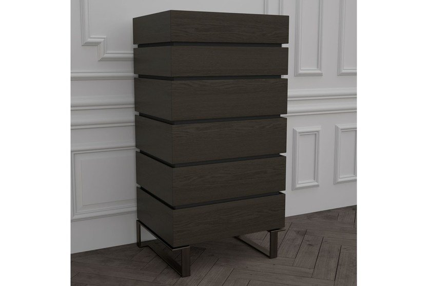 Wooden chest of drawers PARIS | Chest of drawers by HUGUES CHEVALIER