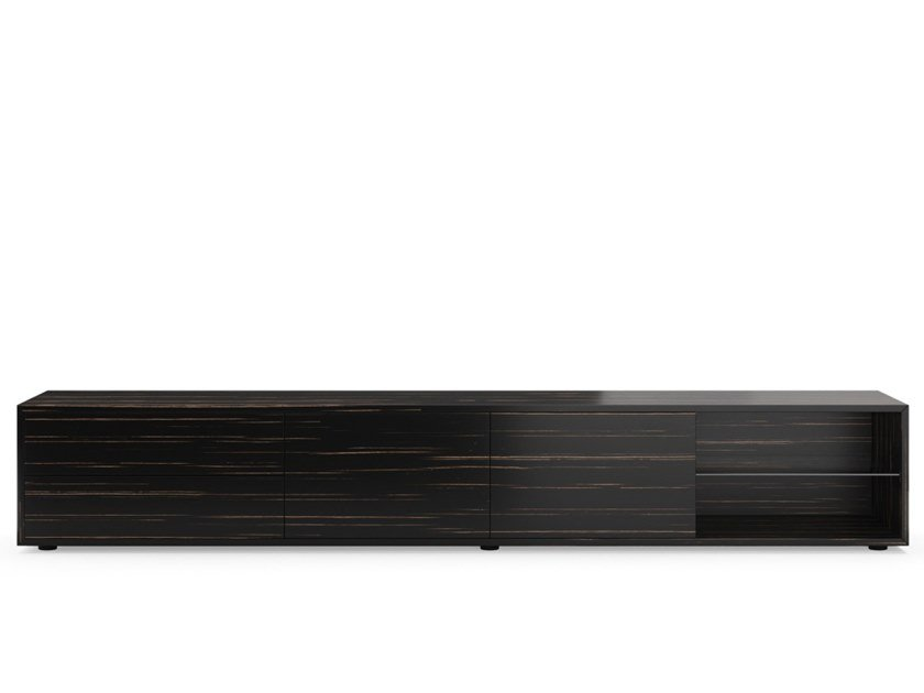 Low wooden TV cabinet PARIS by PRADDY