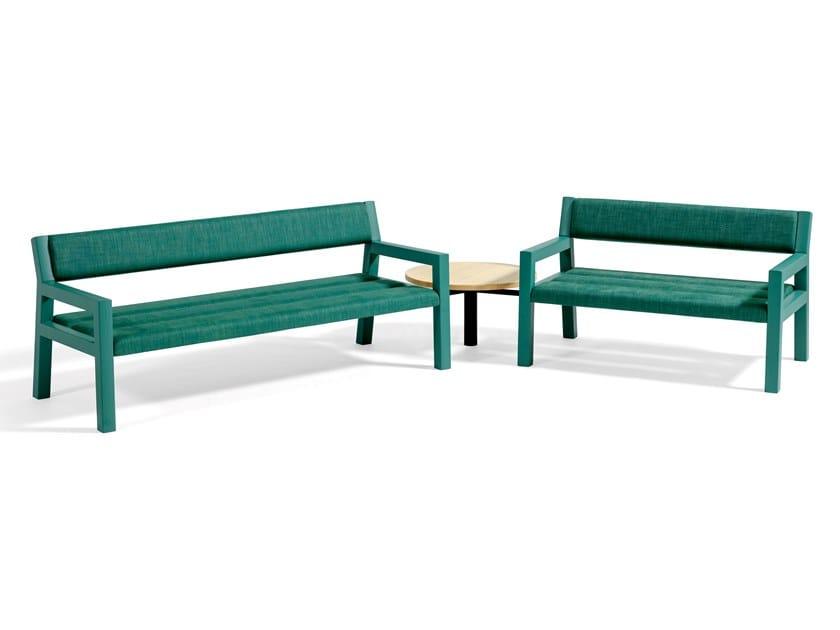 Modular bench seating PARK+ | Bench seating by Blå Station